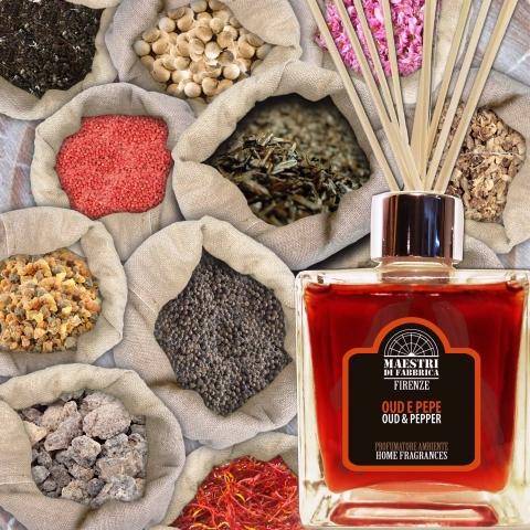 "Home fragrances ""Oud & Pepper"""