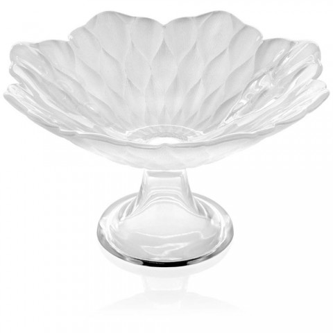 Footed bowls/plates decoration Pearly White diam. 25 cm Loto
