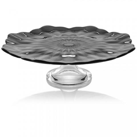 Footed bowls/plates Black diam. 37cm Loto