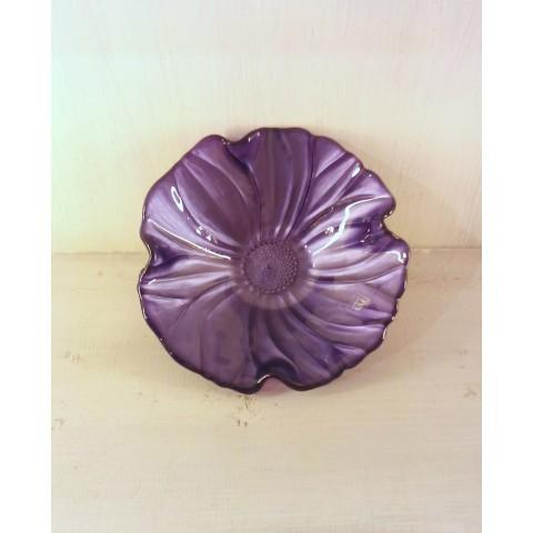 Bowl Violet diam. 19cm Natural Magnolia