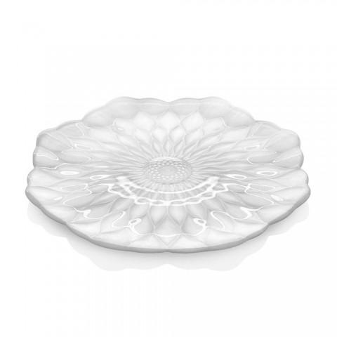 Plate Pearly White diam. 37cm Loto